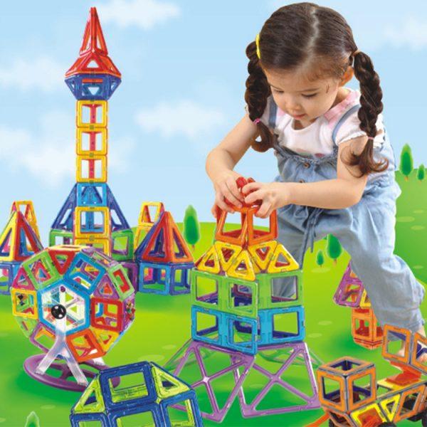 Mag-wisdom-Smart-Set-168-Pcs-Building-Blocks-Magnetic-Construction-Set-Toys-New